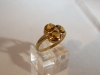 Ring: goud citrien diamant - 2