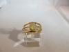 Ring: goud opaal - 2