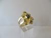 Ring: goud saffieren - 2