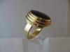 Ring: goud spectroliet - 2