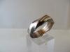 Ring: zilver koper - 1