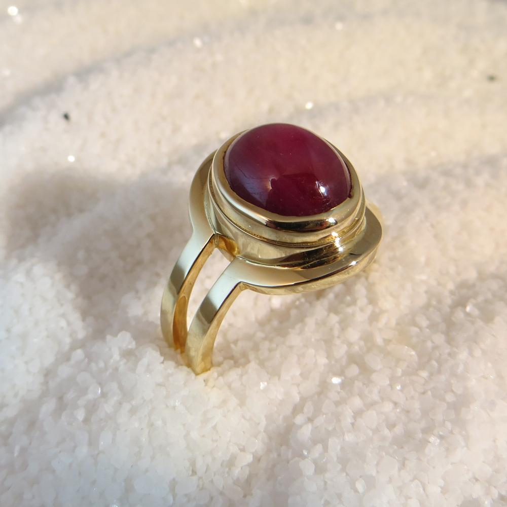 ring goud modern