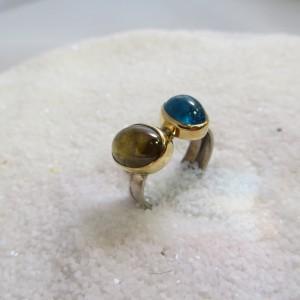 Ring Opaalkwarts Apatiet