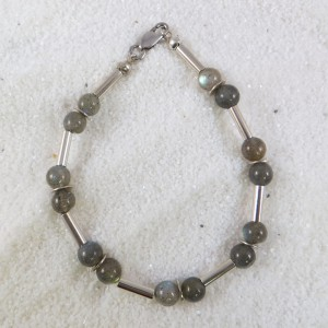 Armband Zilver Labradoriet