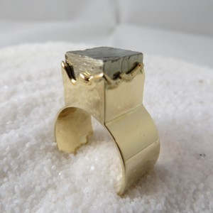 Ring Goud Pyriet