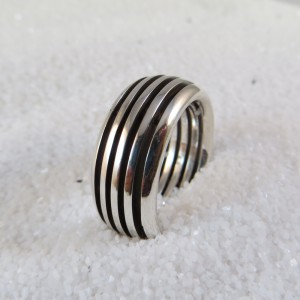 Ring Zilver Galaxy Smal