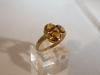 Ring: goud citrien diamant - 2