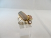 Ring: zilver goud opaal kwarts spinel - 7