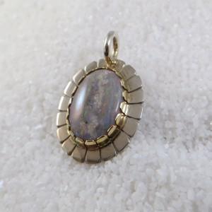 Hanger opaal ovaal