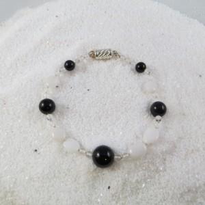 Armband Onix Agaat Bergkristal